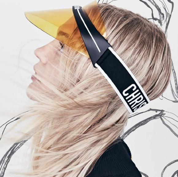 bdea8d7015575 Dior Accessories - DiorClub1 Transparent Logo Sun Visor
